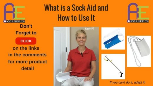 How to Use a Sock Aid
