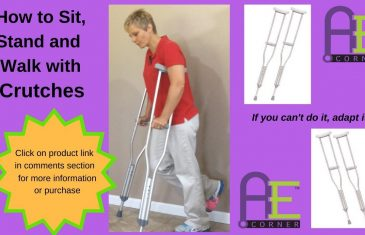 How to Walk with Crutches