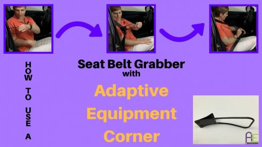 Seat Belt Grabber Handle