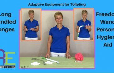 Adaptive Equipment for Toileting