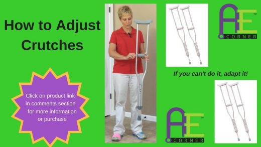 How to Adjust Crutches