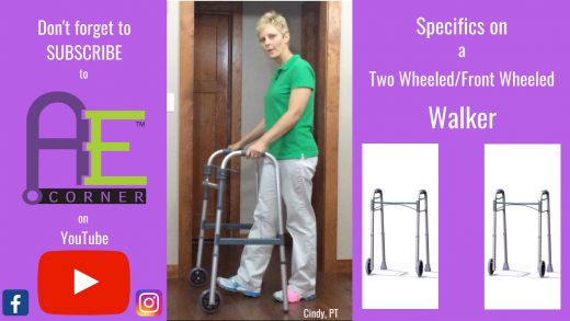 Specifics on 2 Wheel Walker