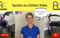 Specifics on a Rollator Walker