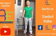 Specifics on a Standard Walker