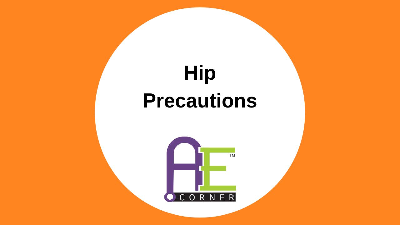 HipPrecautions
