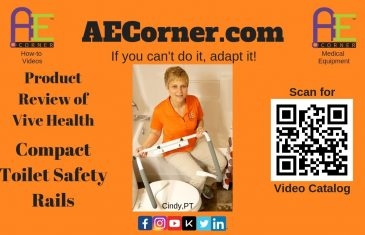 Toilet Safety Rails: Compact