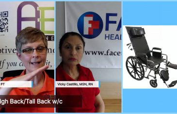 cindy and vicky talk about wheelchairs