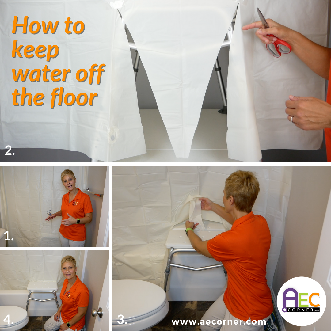How to Keep Water Off the Floor